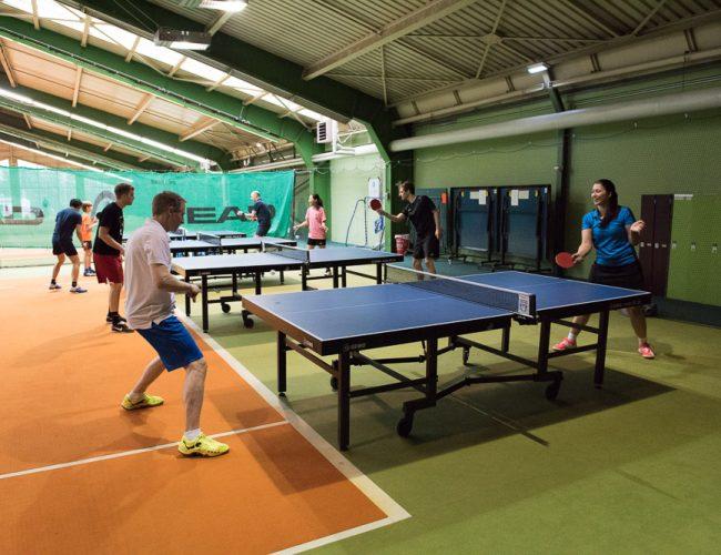 Gruppe Tischtennis