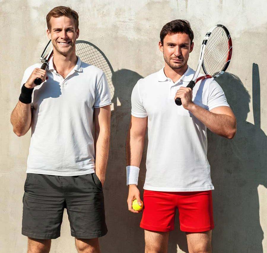 Cabrio Sport Tennis Spieler